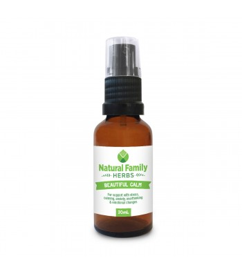 Beautiful Calm - Natural Family Herbs - 30ml Spray