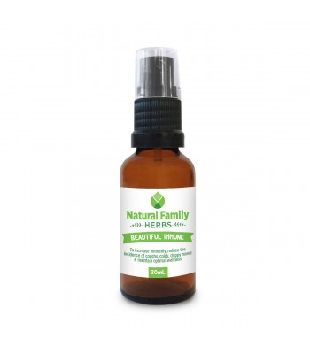 Beautiful Immune - Natural Family Herbs - 30ml Spray