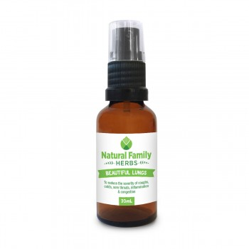 Beautiful Lungs - Natural Family Herbs - 30ml
