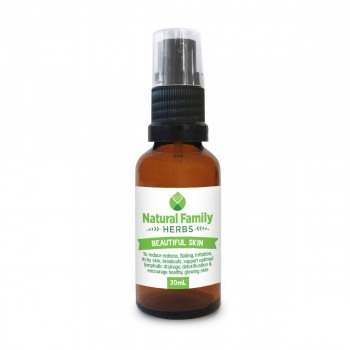 Beautiful Skin - Natural Family Herbs - 30ml spray