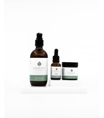 Gift Pack - Hydrating Face Oil 25ml, Face Cream 60ml and Uplifting Bath and Body Oil 200ml