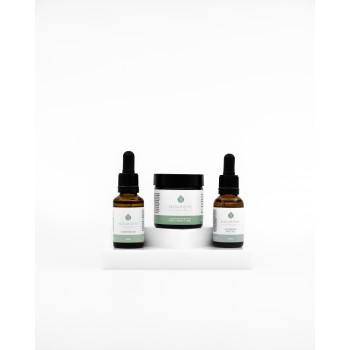 Gift Pack - Face Cleansing Oil 25ml, Hydrating Face Oil 25ml and Face Cream 60ml